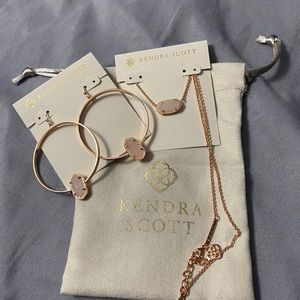 Kendra Scott Bundle Necklace & Earrings